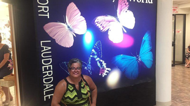Butterfly World um lindo lugar com muitas borboletas!!!